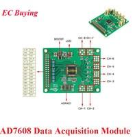 AD7608 Data Acquisition Module 8 Channel 18Bit ADC External Reference ADR421 200kbps Synchronous Sampling Module Boost Converter