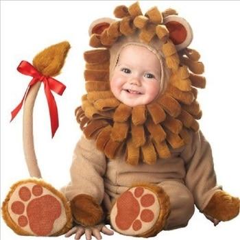 Karikatür hayvan Cosplay bebek kız giysileri kış noel kostüm yeni doğan çocuk romper cadılar bayramı tulum Toddlers bebek onesie