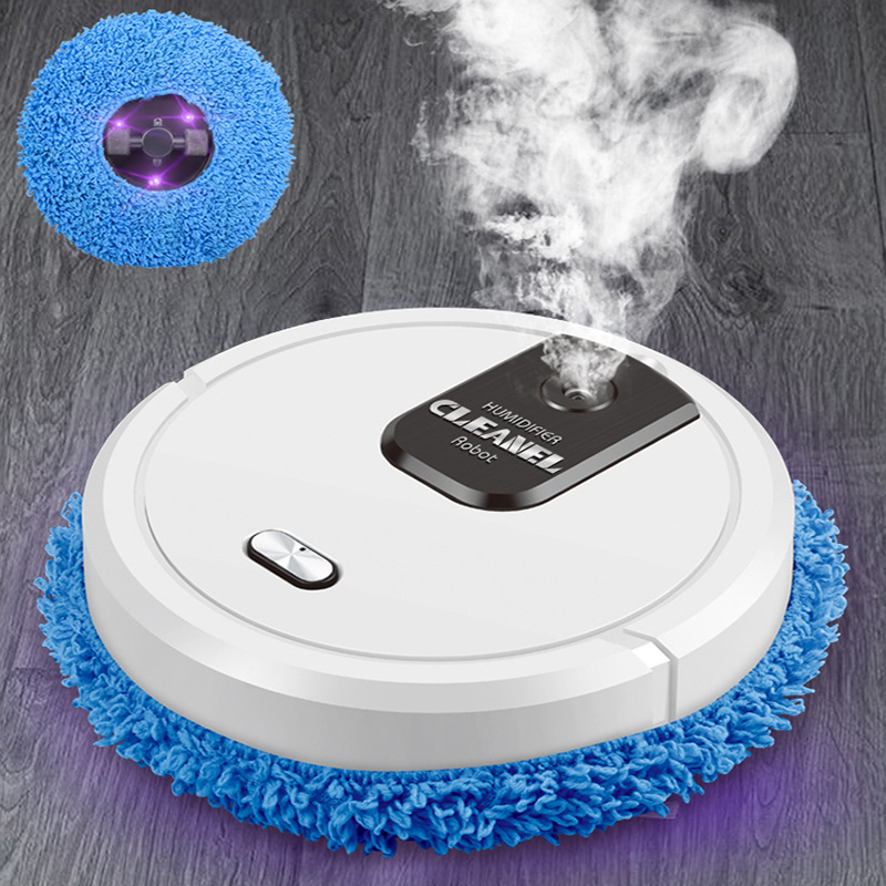 Robot Vacuum Cleaner Smart Home 1500mAh With Mop Wash Inteligente Robotic For Floor Scrubber Washing Machine Floorcloth Cleaning