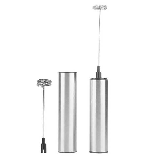 Фото электрический капучинатор для молока с usb зарядкой ручной миксер цена