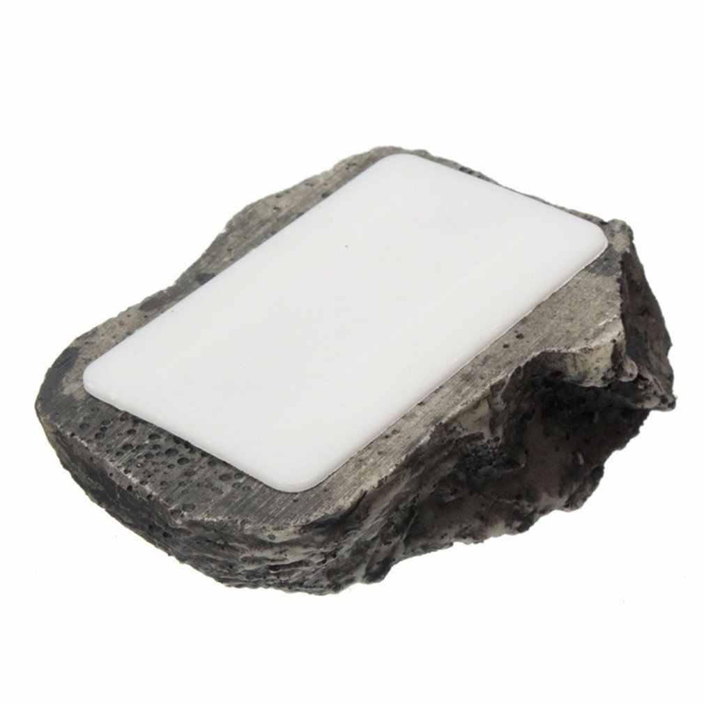 Outdoor Alternatif Berlumpur Lumpur Kunci Cadangan Rumah Aman Keamanan Batu Case Kotak Rahasia Palsu Rock Pemegang Taman Ornamen 6x8x3cm