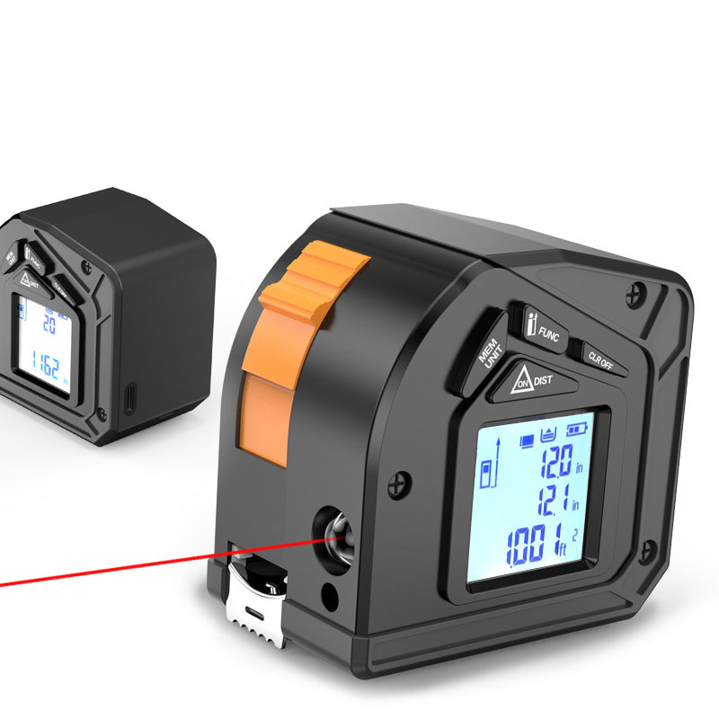 50M Laser tape Measure King Metro Meter laser Electronic Roulette digital Measuring Tape tools retractable