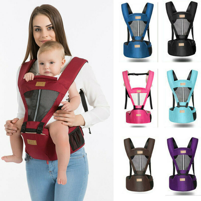 Fashion Baby Sling Backpack Adjustable Multifunctional  Infant Baby Carrier Wrap Sling Newborn Backpack Breathable Ergonomic