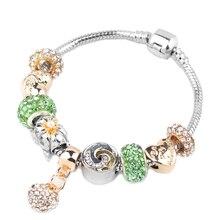 New Hot Love Lock Charm Bracelet For Women Couple Romantic Eternal Brand Fit Valentines Day Present DIY Making