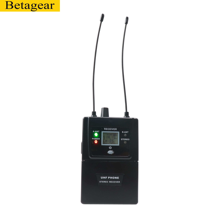 Betagear Stereo 782iem in ohr monitor professionelle bühne leistung drahtlose system audio aufnahme studio uhf wireless monitor