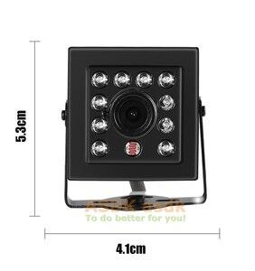 Image 5 - Cámara de seguridad IP para interiores, dispositivo pequeño de grabación de vídeo HD 1296P/1080P de 3 MP, H.265 y POE con visión nocturna IR y 10 LED, sistema de videovigilancia P2P CCTV