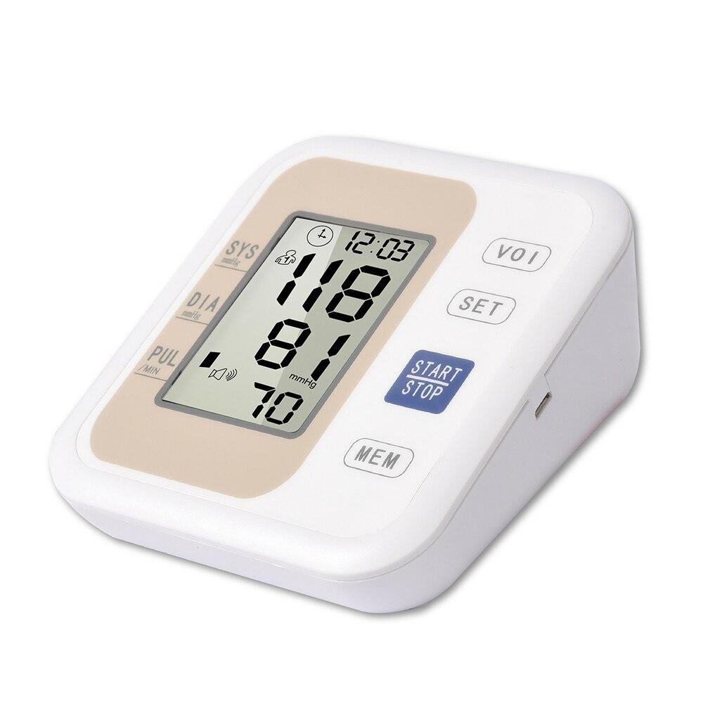 Digitale Blutdruck Monitor Medizinische Ausrüstung Tonometer LCD Gerät für Mess Druck Hause Herz Schlagen Meter Maschine
