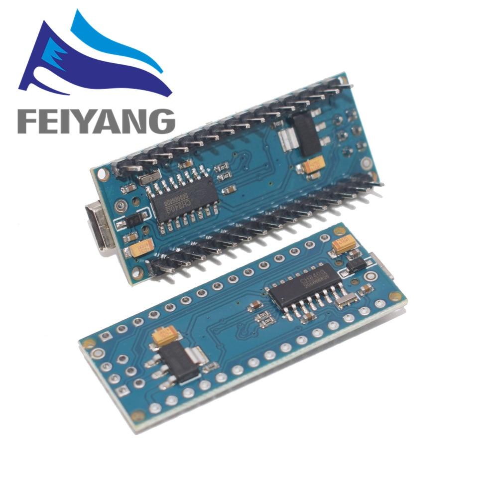 Nano z kontrolerem Nano 3.0 kompatybilnym z bootloaderem dla arduino CH340 dysk usb 16Mhz Nano v3.0 ATMEGA328P/168 P 3
