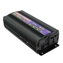 1600W Car Solar Pure Sine Wave Power Inverter DC12/24V To AC110/220V Converter 12V-110V 12V-220V  24V-110V 24V-220V