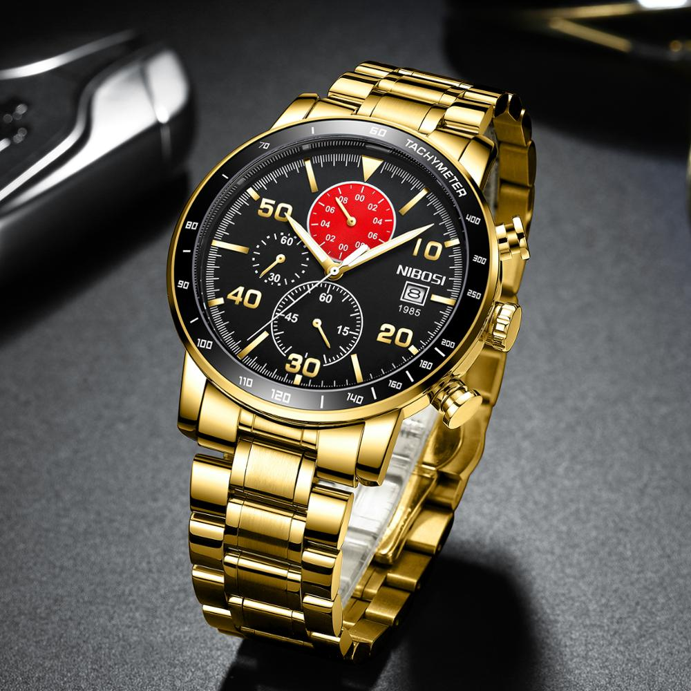 NIBOSI 2020 New Quartz Watch