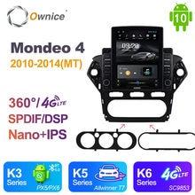Autoradio Nano verticale Android 10.0 autoradio 2 dinper Ford Mondeo 4 2010 - 2014 unità di sistema Audio Video Auto SPDIF 4G LTE