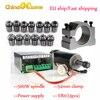 500W mandrino raffreddato ad aria ER11 mandrino CNC 0.5KW motore mandrino 52mm morsetti alimentatore regolatore di velocità per CNC fai da te