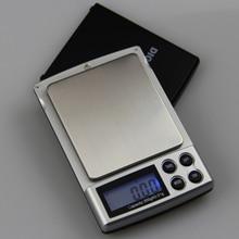 New Cheap 100g/0.1g-1kg/0.1g Portable Scales Jewelery Digital 0.01g 0.1g High Precious Medicinal herbs Gold Pocket