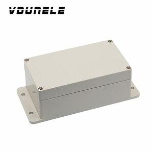 IP66 хорошая цена Клеммная колодка коробка с фланцами Электрический водонепроницаемый пластиковый распределительный чехол Корпус проекта д...