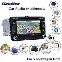 Liandlee For Volkswagen VW Bora 2005~2018 Android Car Radio CD DVD Player GPS Navi Navigation Maps Camera OBD TV Screen