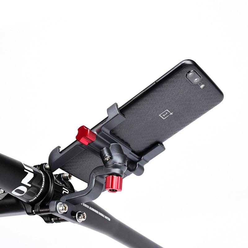 "3 Style Aluminium Alloy Road Bike Phone Holder 3.5-6.5"" Cell Phone GPS Mount Holder Bicycle Phone Support Motorcycle Bracket"