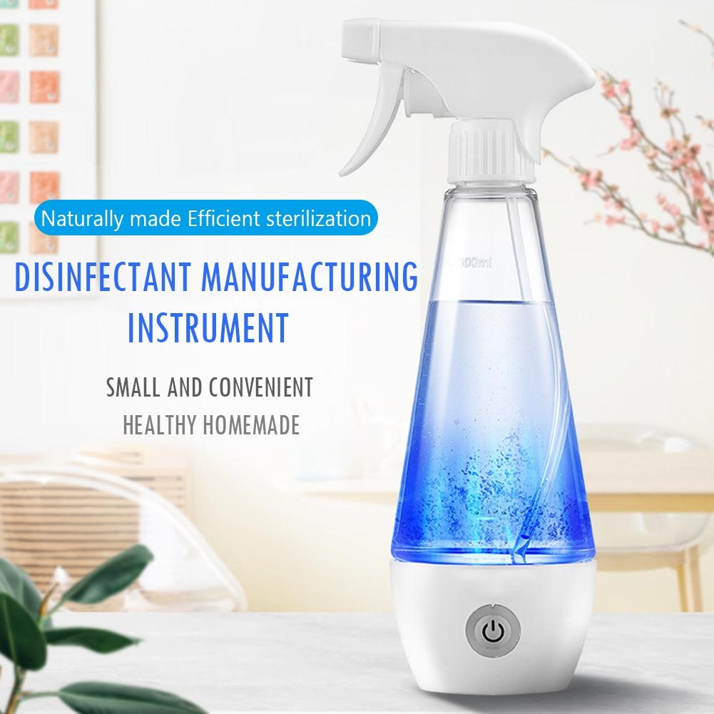 300ml Hypochlorous Acid Water Disinfectant Machine Maker Sodium Hypochlorous Generator Household Sterilization Liquid Machine