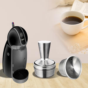 Refillable Capsule Dolce Gusto Steel for Nescafe Reutilizvel 500times New-Use