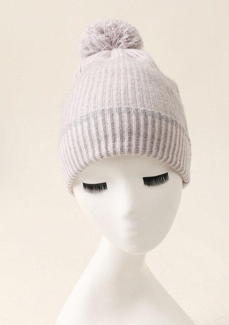новейший новый дизайн вязаная шапка из кашемира и перчатки две фотография