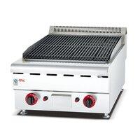 Sot forno de gás comercial de aço inoxidável 150 churrasqueira a gás lava rock grill rock grill grill lava rock gas grill rocks -