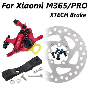 ZOOM Xtech HB100 Aluminium Alloy Hydraulic Brake For Xiaomi M365/Pro Electric Scooter Upgrade M365 Disk Brakes with adapter