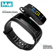 Bluetooth Y3 plue Headset Talk Smart band Bracelet heart rate monitor Sports Smart Watch Passometer Fitness Tracker Wristband