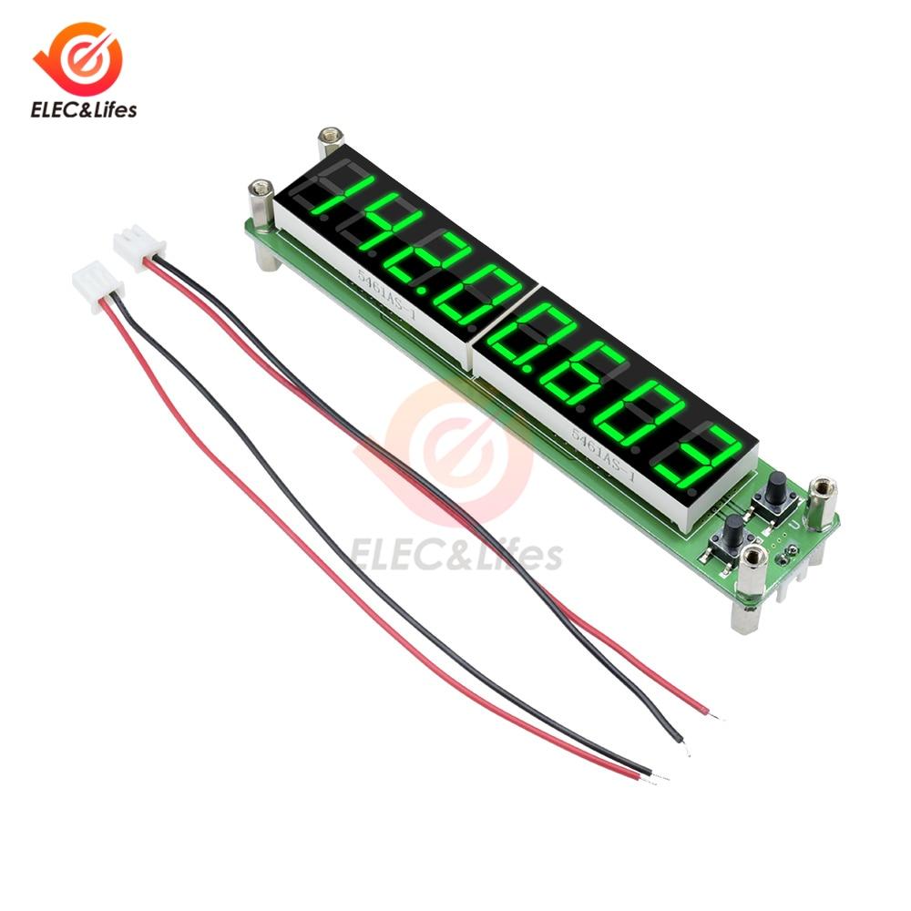 РЧ-тестер частоты сигнала 0,1 Гц-60 МГц 20 МГц до 2400 МГц 2,4 ГГц 8 цифр светодиодный цифровой частотомер, частота детектора
