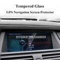 Закаленное стекло для BMW X5 X6 E70 E71  Защитная пленка для gps-навигации