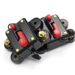 30A 50A 60A 80A 100A 125A 150A 200A 250A 300A дополнительный автомобильный аудио встроенный автоматический выключатель предохранитель для 12V-48V защита с Кепки