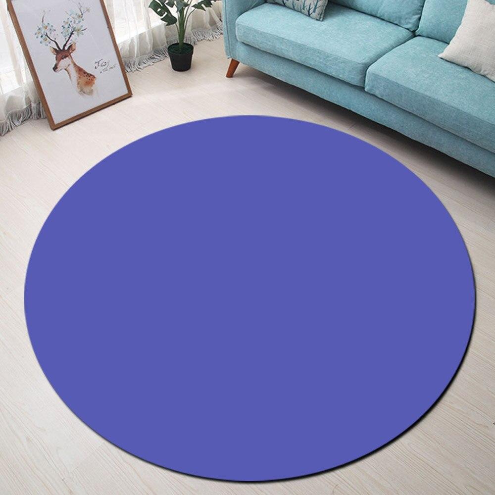 Blue Purple Butterfly Floor Memory Foam Carpet Decor Rug Non-slip Door Bath Mat