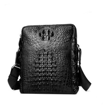 yuanyu Crocodile leather men's bag genuine imported crocodile leather single shoulder cross bag genuine crocodile leather bag crocodile crocodile cr215f yellow