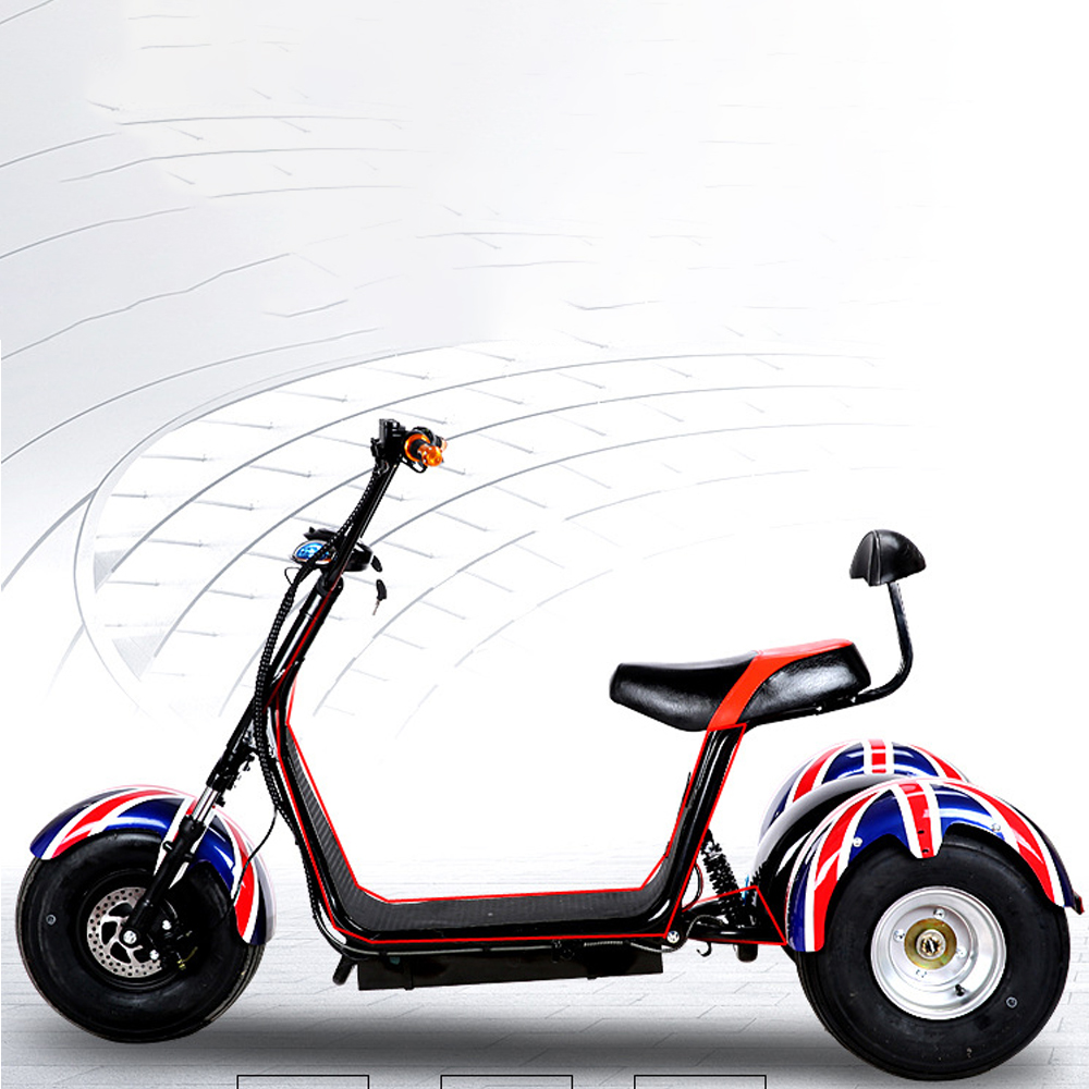 Adult harley 60V 20AH Electric bike 1000W electric motorcycle Brushless Motor scooter