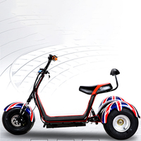 Adult harley 60V 20AH Electric bike 1000W electric motorcycle Brushless Motor electric scooter