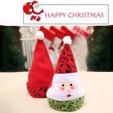 Рождественская шапка с Санта Клаусом снеговик медведь лось Снежная