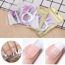 Nail-Extension French-Manicure for Uv-Gel-Building Acrylic Fiberglass Salon-Tool Tips