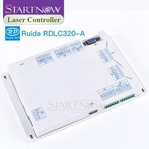 Image 4 - RD 320 A sterowanie laserowe karta DSP płyta główna CNC Ruida RDLC320 A do grawerowania sprzęt części zamienne sterownik laserowy CO2
