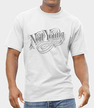 T-SHIRT DO LOGOTIPO DO Neil Young FRUIT OF THE LOOM IMPRESSÃO POR IMPRESSORA EPSON(China)