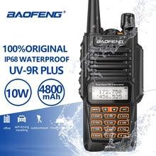 الأصلي Baofeng UV-9R ترقية المزدوج الفرقة مقاوم للماء 10 واط اسلكية تخاطب الاتصالات الهواة Vhf Uhf CB راديو هام UV-9R زائد