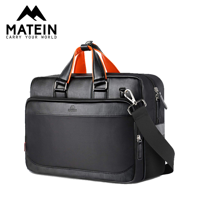 Matein Office Bags For Men Extra Large 17 Inch Leather Laptop Briefcase For Women Waterproof Business Bags For Men Travel Bags