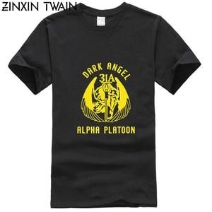 Американская армейская спецназ печатная команда 3 St-3A Темный ангел Nswdg Devgru футболка для мужчин