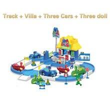 Pj máscara 1 villa 3 carros 3 bonecas modelo catboy owlette gekko figura máscaras conjunto montar brinquedo interessante jogos para crianças gift2b17