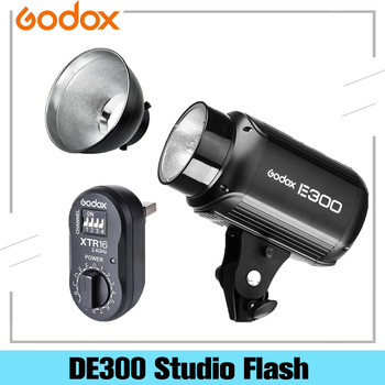 Godox DE-300 DE300 300W Photography Studio Compact Flash Strobe Studio Lighting Head Bowens Mount image