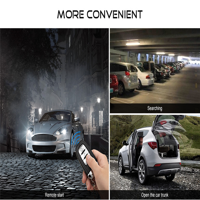 Sheriff GPS Car Aarm With Auto Start Remote Start And Keyless Entry System Multifunction Central Locking System Auto Alarm PKE