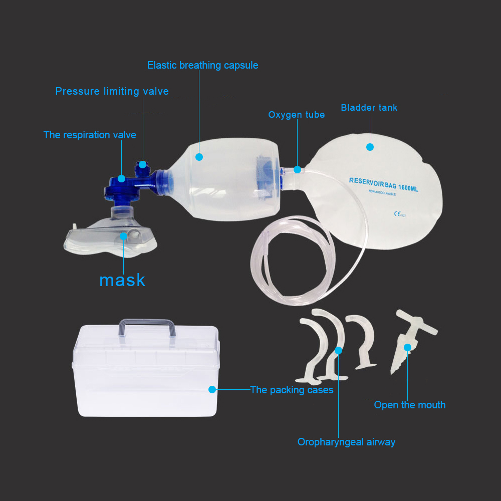 Żel krzemionkowy podręcznik dla dorosłych prosty aparat oddechowy resuscytator torba Ambu apteczka maszyna tlenowa
