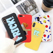 GYKZ Funny Emma Chamberlain Fitted Case For iPhone X XS MAX XR 7 8 6 6s Plus Fashion Soft Silcione Phone Cover Girl Print Capa