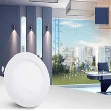 Светодиодный светильник холодный выставочный прочный круглый