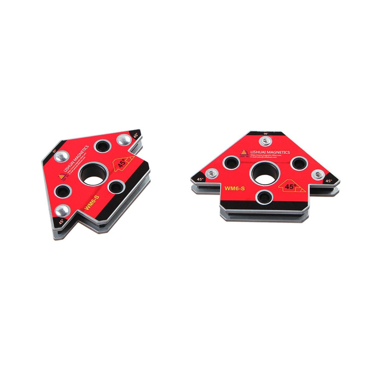 Magnetic Magnet  Welding Neodymium Holder Small Clamp Magnet Arrow Welding Welding 2pcs Set S WM6
