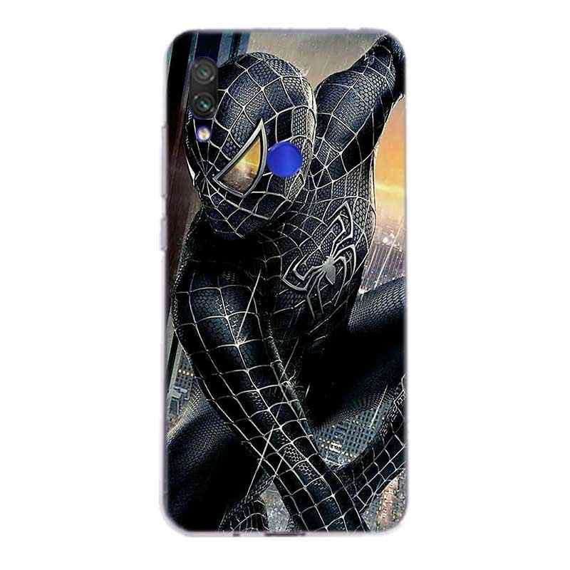 Marvel mucize Heros örümcek adam silikon kılıf Xiaomi Redmi için not 8 7 6 Pro 5 4 4X K20 7A S2 5A 6A Y3 xiaomi A3 9T 9 SE F1 S2