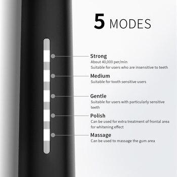 Электрическая зубная щетка SEAGO SG-958 5