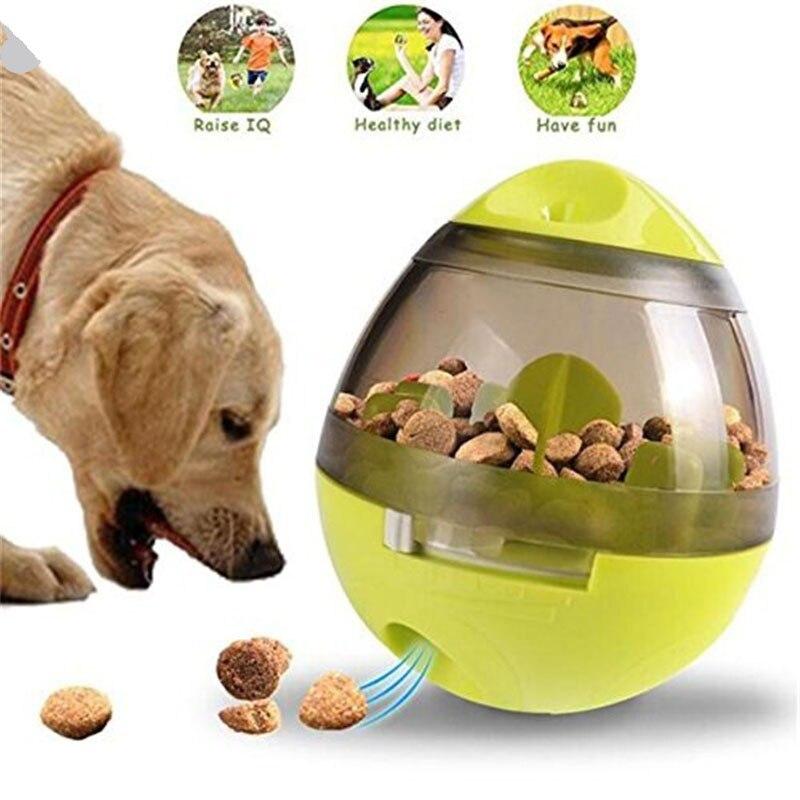 Brinquedo interativo do gato iq tratar bola mais inteligente brinquedos para animais de estimação comida bola dispensador de alimentos para gatos jogando bolas de treinamento suprimentos para animais de estimação|Brinquedos cães|   - AliExpress